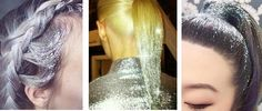 Want an EXPLOSION of glitter on your hair that will stay there and feels & looks like nothing you've ever used or seen? Hair Oil For Dry Hair, Your Hair, Glitter Hair Gel, Hair Clinic, Prom Dresses, Formal Dresses, Cool Hairstyles, Hair Styles, Makeup