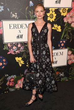 Kate Bosworth at the H&M x ERDEM show in Los Angeles on October 18, 2017