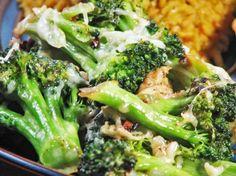 Lemon Parmesan Broccoli. Photo by Kerfuffle-Upon-Wincle
