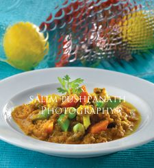 Coorg Vegetable Curry: Salim Pushpanath Photography