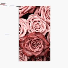 Vintage roses' Poster by Medly - Rose Gold Wallpaper Backgrounds Galaxy Wallpaper, Gold Wallpaper Background, Rose Gold Wallpaper, Flower Wallpaper, Wallpaper Backgrounds, Background Images, Glitter Force, Red Glitter, Beautiful Flowers Wallpapers