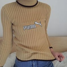 Brand new with tags! Coolest roll neck turtleneck jumper by Puma  Will fit sizes 6-10. Only worn for photos! Instant buy is on ✨