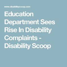 Education Department Sees Rise In >> 14 Best Disability And Education Images In 2019 Disability