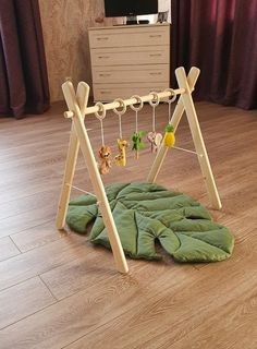 Wooden Baby Play Gym, Baby gym with or without toy set, Organic baby gym toys, mat baby gym, Activit Baby Set, Baby Bedroom Furniture, Wood Pallet Furniture, Play Gym, Felt Decorations, Baby Rattle, Sensory Toys, Baby Play, Ewok