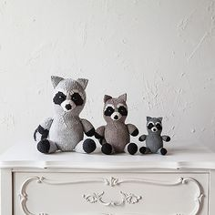 Ravelry: Pippin the Raccoon pattern by Julie L. Anderson