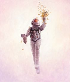 Science Bridges Life and Death in This Stunning Astronaut Art
