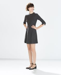 Image 1 of FLARED MINI DRESS from Zara $79.90