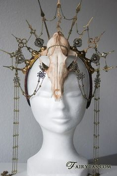 Urban Goddess - 30 stunning DIY circlet ideas
