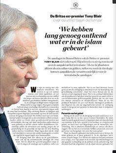 Vertaling van Tony Blairs opiniestuk uit The Sunday Times. Lees het volledige artikel in Knack nr. 15 of op knack.be