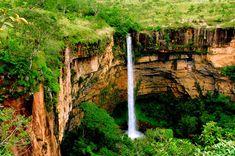Véu da Noiva, Parque Nacional da Chapada dos Guimarães (Mato Grosso)