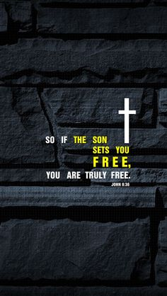 Read the Book of John today :)