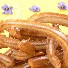 Make your own delectable Spanish churros with this easy recipe. The only thing you'll need is a churro pump, which can be purchased online or in speciality shops. Spanish Churros Recipe, English Biscuits, Cooking Beets, Cooking Pork, Spanish Dishes, Cooking With Olive Oil, Cooking Classes For Kids, Cuban Recipes, English Food
