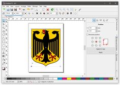 Vector graphic illustration for Linux, Windows, Mac. Free Opening, Text Layout, Rounded Rectangle, Color Profile, Open Source, Coreldraw, Pantone Color, User Interface, Vector Graphics