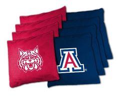 NCAA Kentucky Wildcats Official Cornhole Bean Bag Sets by Wild Sports. NCAA Kentucky Wildcats Official Cornhole Bean Bag Sets.