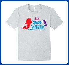 Mens Team Mermaid Team Love Pink 3rd Grade Shirt Daughter Medium Heather Grey - Relatives and family shirts (*Amazon Partner-Link)