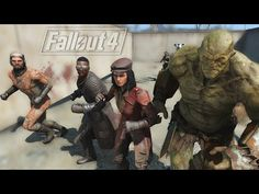 FALLOUT 4: COMPANION FREE-FOR-ALL! - YouTube
