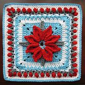 Poinsettia looking: Floral+Trellis++pattern+by+Melissa+Green