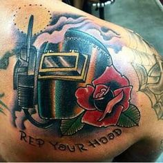 1000 images about tattoo ideas on pinterest welding tattoo welding and welding helmet. Black Bedroom Furniture Sets. Home Design Ideas