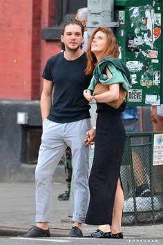 Kit Harington and Rose Leslie Out in NYC September 2016 | POPSUGAR Celebrity