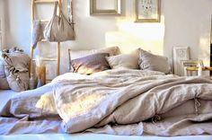 Bedroom linens from: monday TO sunday HOME