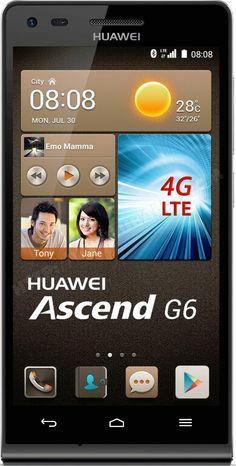 Smartphone HUAWEI Ascend G6 noir
