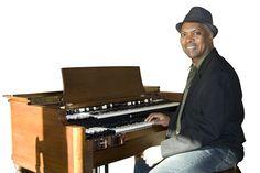 Booker T at his Hammond organ. Hammond Organ, The Hammond, Jazz Art, Acid House, Booker T, Music Images, Vintage Keys, Band Photos, Jazz Blues