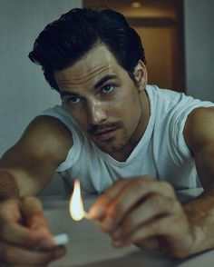 @giacomo_gianniotti for @interviewmag with @djunabel @heyannabee shot at @thelinehotel