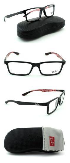 4cef2eaaf01b30  169.99 - Ray-Ban RB8901 Unisex Rectangular Eyeglasses Shiny Black Frame  2000  rayban