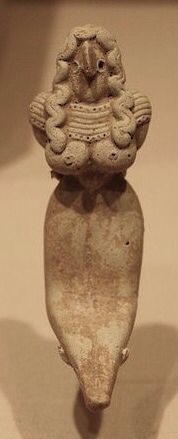 An Indus Valley Baluchistan Terracotta Seated Mother Goddess of the Mehrgarh Style - Pakistan | Flickr - Photo Sharing!