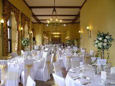 Wedding venue styling in London