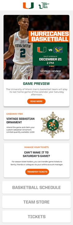 University Of Miami, Marketing Automation, Basketball Teams