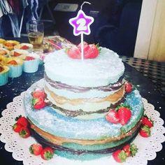 Naked Cake Azul !!!