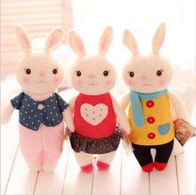 35 cm Metoo Tiramisu conejos calidad estupenda conejos lindos animales de peluche prefecto regalos para las niñas y niños(China (Mainland))