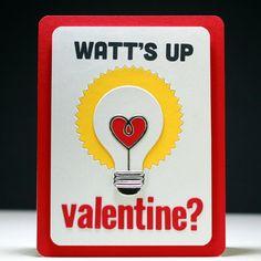Watt's Up Valentine? - Scrapbook.com