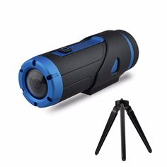 Warrior+Extreme+Edition+HD+1080P+Sports+Action+Camera+with+Tripod++Waterproof+Sports+Action+Video+Camera+Included+32GB+Storage+Card+(Black) - $174.00