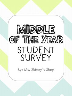 End Of Year Classroom Culture Survey Enter For Your Chance To Win
