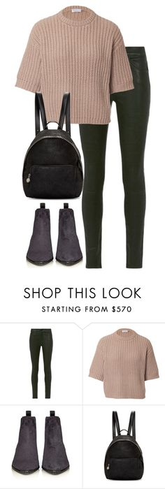 """""""Untitled #2926"""" by elenaday on Polyvore featuring Frame Denim, Brunello Cucinelli, Acne Studios and STELLA McCARTNEY"""