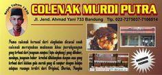 COLENAK MURDI PUTRA, dicocol enak ..  makanan khas sunda yang berbahan dasar singkong dengan segala rasa... 100% halal