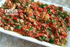 Lorlu Cevizli Köz Biber Salatası (Süper Lezzet) Tarifi