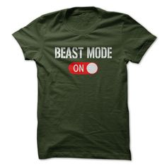 View images & photos of BEAST MODE ON! t-shirts & hoodies