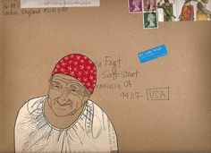 mail art by Diana Fayt