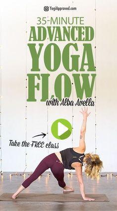 35-Minute Advanced Vinyasa Yoga Flow (Free Class) #simplifiedkundaliniyoga