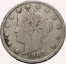 1907 LIBERTY HEAD NICKEL 5 Cent United States of America USA Antique Coin i43557 #ancientcoins https://ancientcoinsaustralia.wordpress.com/2015/11/03/1907-liberty-head-nickel-5-cent-united-states-of-america-usa-antique-coin-i43557-ancientcoins/