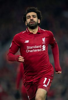 LIVERPOOL, ENGLAND - JANUARY Mohamed Salah of Liverpool in action during the Premier League match between Liverpool FC and Crystal Palace at Anfield on January 2019 in Liverpool, United Kingdom. (Photo by Visionhaus/Getty Images) Liverpool Players, Liverpool Fc, Paul Pogba Manchester United, Liverpool You'll Never Walk Alone, Mo Salah, Club World Cup, Liverpool England, World Cup Winners, Mohamed Salah