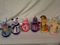 My Little Dalek by Country-Geek-Crochet Seriously just too cute.