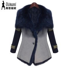 Find More   Information about Winter Women's Overcoat 2014 New Arrival Brand Fashion High Quality Atmospheric Slim Faux Fur Coat Faux Leather Outerwear Female,High Quality  ,China   Suppliers, Cheap   from E&Shine Fashion on Aliexpress.com