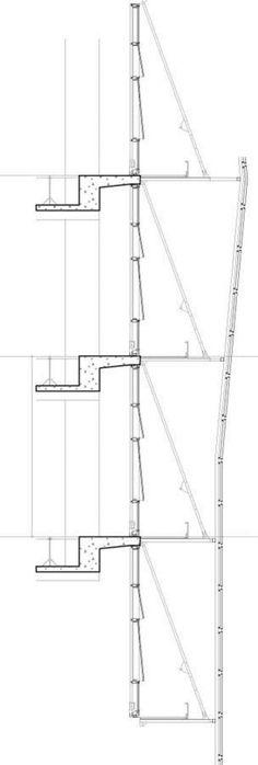 San Francisco Federal Building - South Facade Skin Detail | Morphopedia | Morphosis Architects