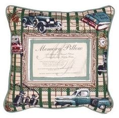 Masculine Memory Decorative Tapestry Pillow
