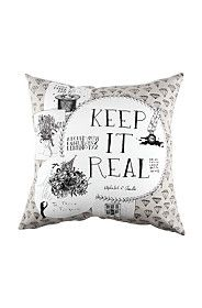 MICHAEL CHANDLER ILLUSTRATED 60X60CM SCATTER CUSHION
