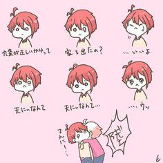 えいきち (@Ei_ki_chi_i7) さんの漫画 | 6作目 | ツイコミ(仮) Comic Strips, Manga Anime, Chibi, Idol, Geek Stuff, Fan Art, Comics, Illustration, Cute